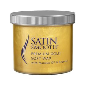 Satin Smooth Premium Gold Wax with Manuka Oil and Beeswax 425g
