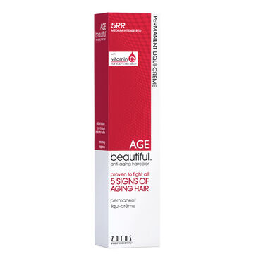 AGEbeautiful Permanent Hair Colour - 5RR Medium Intense Red 60ml