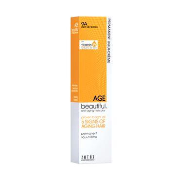 AGEbeautiful Permanent Hair Colour - 9A Light Ash Blonde 60ml
