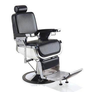 REM Emperor Barber's Chair Black