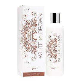 Whitetobrown Self Tanning Lotion Dark 250ml