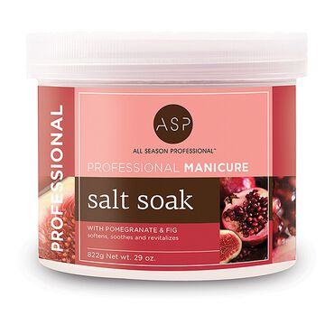 ASP Manicure Pomegranate and Fig Salt Soak 822g