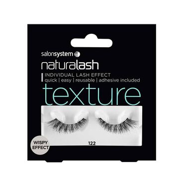 Salon System Naturalash Strip Lashes Texture Wispy Effect 122