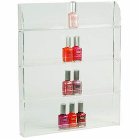 Beauty Express Nail Polish Display Wall Rack For 36 Bottles