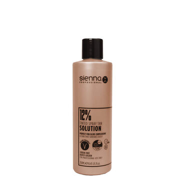 Sienna X Professional Tanning Solution 12% 250ml