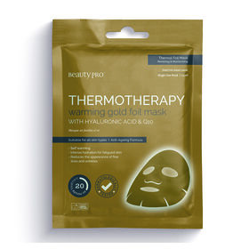 BeautyPro Thermotherapy Warming Gold Foil Face Mask 25ml