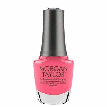 Morgan Taylor Long-lasting, DBP Free Nail Lacquer - Pink Flame-ingo 15ml