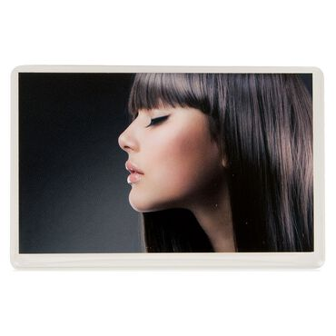 Salon Services Appointment Card Hair Brown