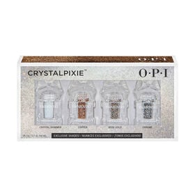 OPI Shine Bright Christmas Collection - Crystalpixie Nail Art Crystals Mini's, 4 Pack