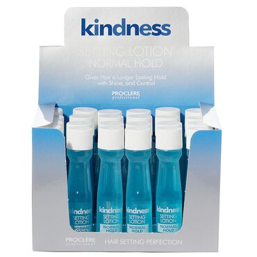 Proclere Kindness Setting Lotion, Normal Hold, Pack of 24 x 20ml