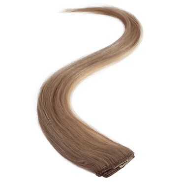 Wildest Dreams Clip In Single Weft Human Hair Extension 18 Inch - 18/22 Medium Blonde