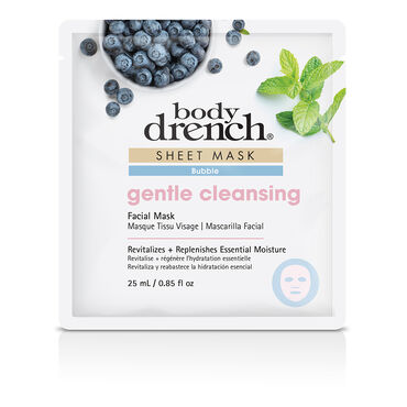 Body Drench Pink Bubble Gentle Cleansing Sheet Facial Mask 25ml