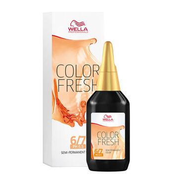 Wella Professionals Colour Fresh Semi Permanent Hair Colour - 6/7 Dark Brunette Blonde 75ml