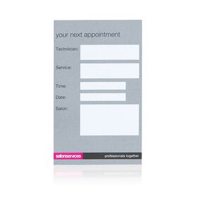 Salon Services Appointment Cards Nails - Pack of 100
