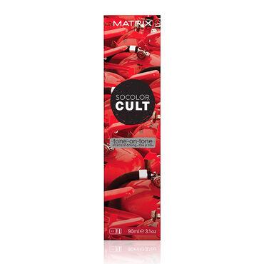Matrix SoColor Cult Tone-on-Tone Semi-Permanent Hair Colour Red Hot 90ml