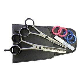 GlamTech One 5 Inch Scissors and 5.5 Inch Thinner Set