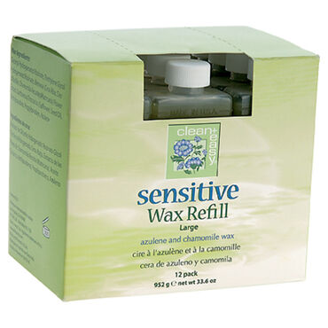 Clean & Easy Sensitive Wax Refill Large Pack of 12