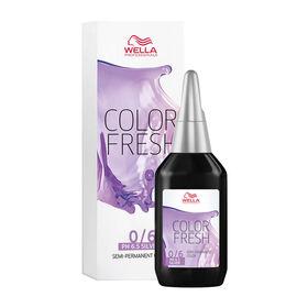 Wella Professionals Colour Fresh Semi Permanent Hair Colour - 0/6 Silver Violet 75ml