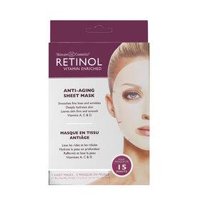 Retinol Anti-Ageing Mask - 5 Pack 90g