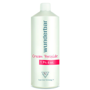 Wunderbar Cream Peroxide 1.9%/6V 1000ml