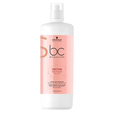 Schwarzkopf Professional Bonacure Peptide Hair Repair Rescue Micellar Shampoo 1L
