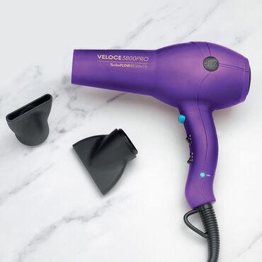 Diva Edit Veloce 3800 Pro Hair Dryer Purple