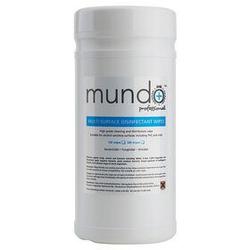 Mundo Multi Surface Disinfectant Wipes Pack of 100