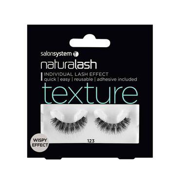 Salon System Naturalash Strip Lashes Texture Wispy Effect 123