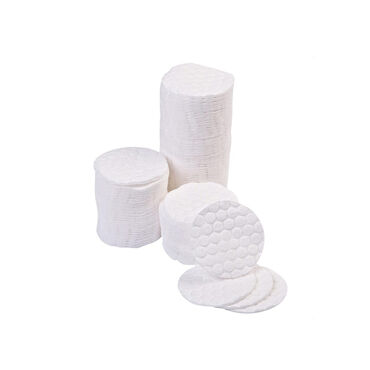 Beauty Express Embossed Cosmetic Discs Pack of 500
