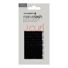 Marvelash Extra Volume Silky Lash Assorted Black