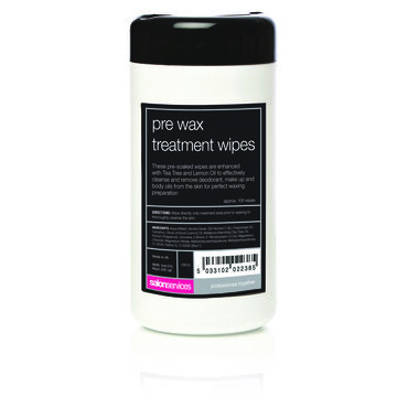 Salon Services Pre Wax Treatment Cleansing Wipes approx. 100 wipes