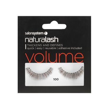 Naturalash 100 Black Strip Lashes