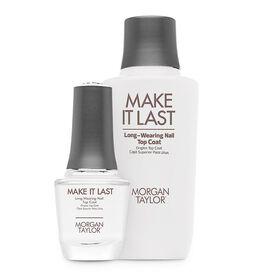Morgan Taylor Essentials Make It Last Top Coat Professional Kit