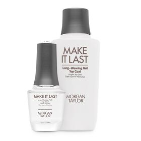 Morgan Taylor Essentials Make It Last Top Coat Professional Kit