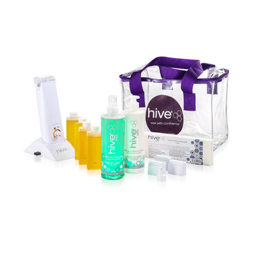 Hive of Beauty Hand Held Roller Wax Starter Kit