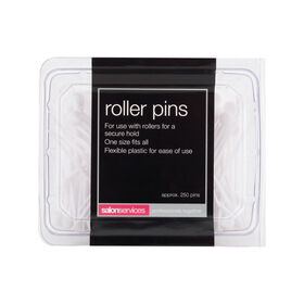 Salon Services Natural Plastic Roller Pins Pack of 288
