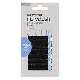 Marvelash C Curl Lashes 0.20 13mm Black