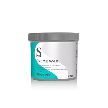 S-PRO Tea Tree Creme Wax Pot, 425g