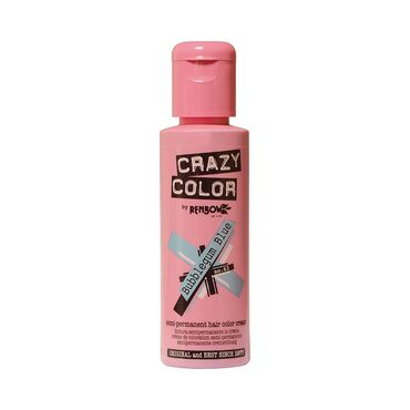 Crazy Color Crazy Color Semi Permanent Hair Colour Cream - Bubblegum Blue 100ml