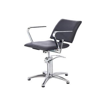 S-PRO Reclining Backwash Chair Black