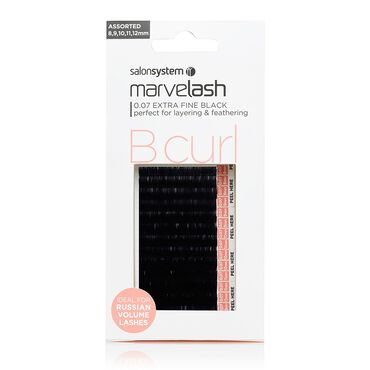 Marvelash B Curl 0.07 Extra Fine Assorted Lashes