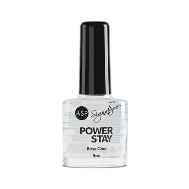 ASP Power Stay Professional Nail Lacquer Base Coat Base Coat  9ml