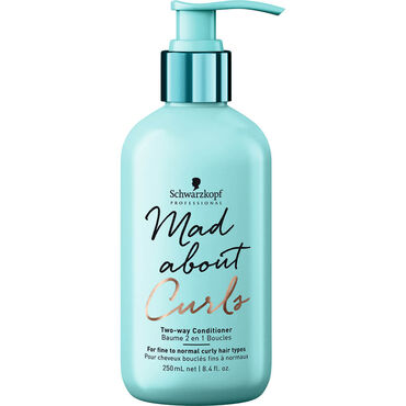 Schwarzkopf Professional Mad About Curls Two-Way Conditioner, 250ml