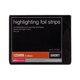 Salon Services Foil Strips Short