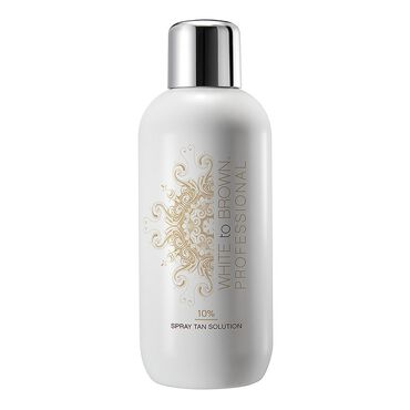 WHITE to BROWN Professional 10% Spray Tan Solution 1 Litre