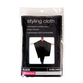 Salon Services Black Styling Cloth Extra Large
