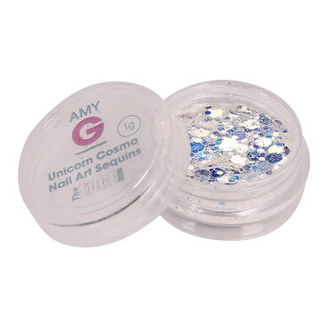 Amy G Nail Art Collection Unicorn Collection Cosmo Sequins 1g