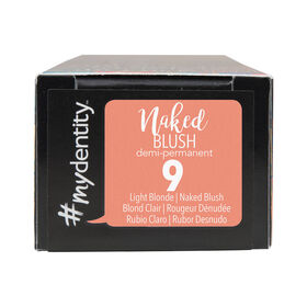 #mydentity Naked Blush 9 Demi-Permanent Hair Colour 58g