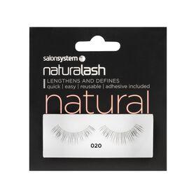 Naturalash 020 Black Strip Lashes