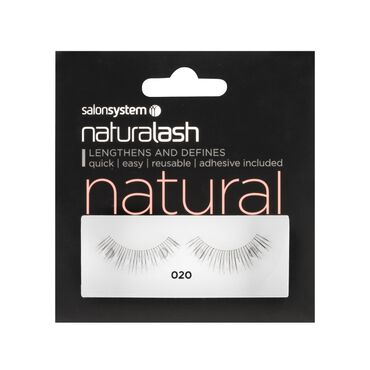 Naturalash 020 Black Strip Lashes